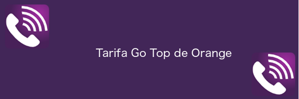 Tarifa Go Top de Orange